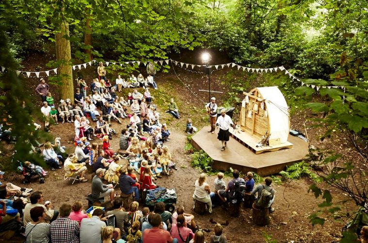 Timber Festival outdoor performance credit Teneight - england travel