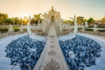 Wat Rong Khun thailand trip