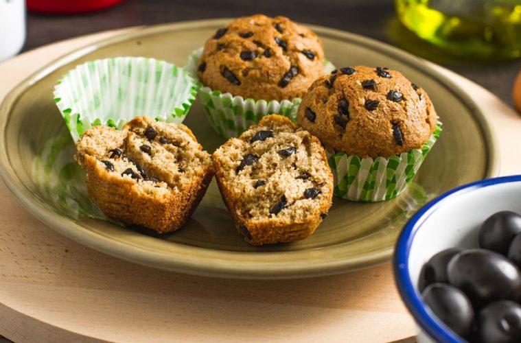 black olives muffins recipe - 1024 x 589