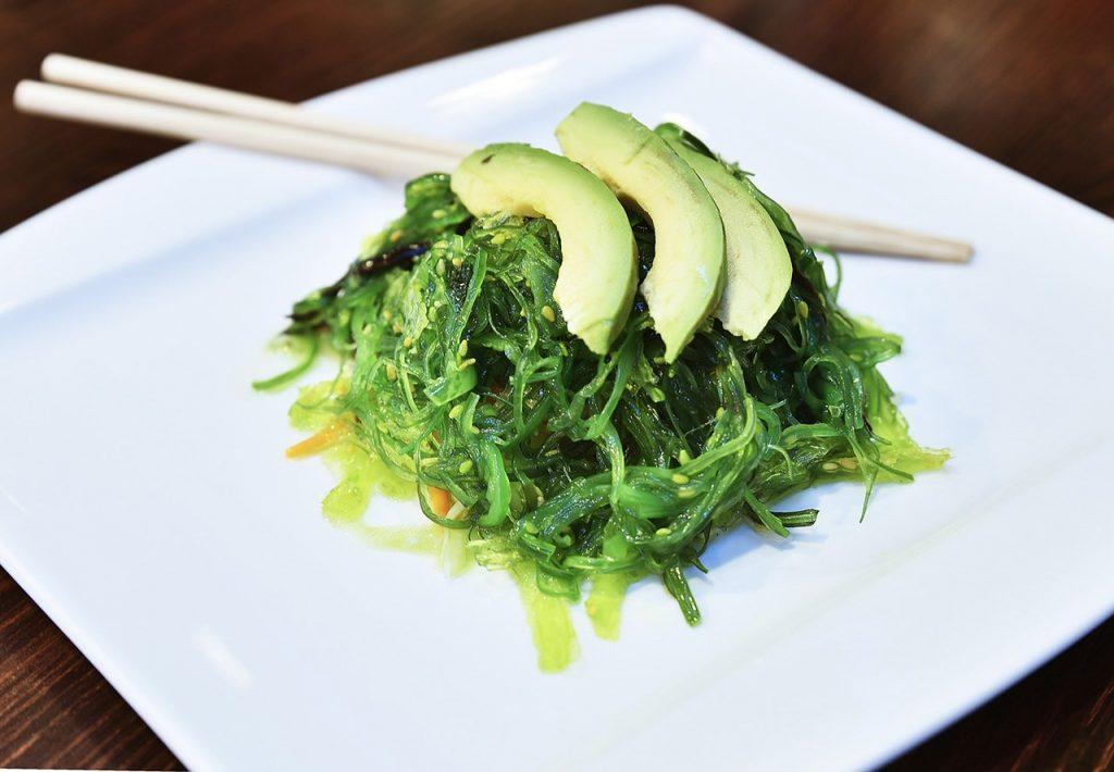 Seaweed Salad via Pixabay