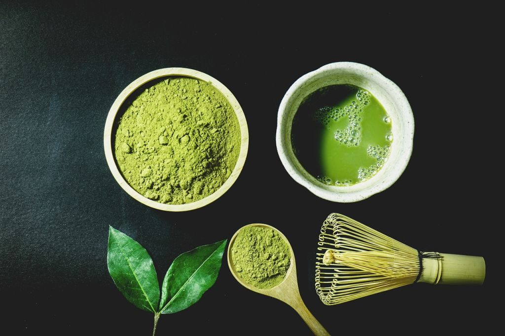 food trends 2018 match green tea powder