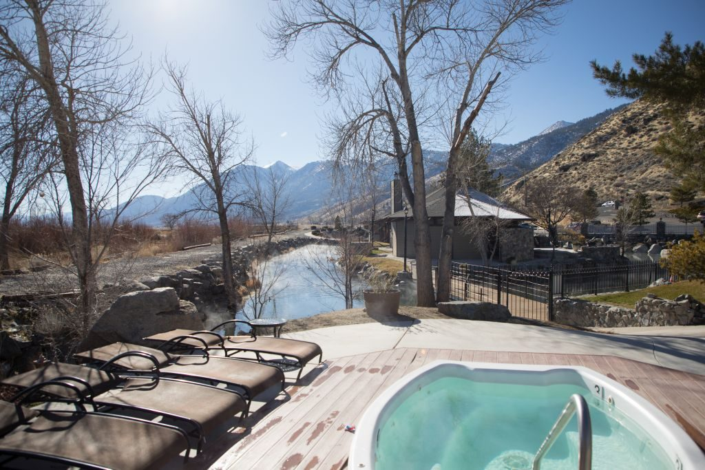 David Walley's Hot Springs Resort outdoors