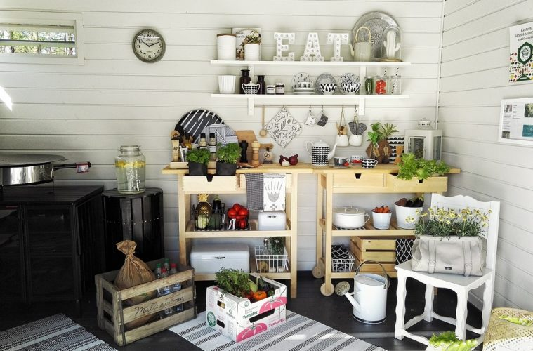 how to have a green kitchen avoid Plastic storage