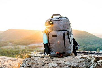 backpack eco-friendly holiday planning tips
