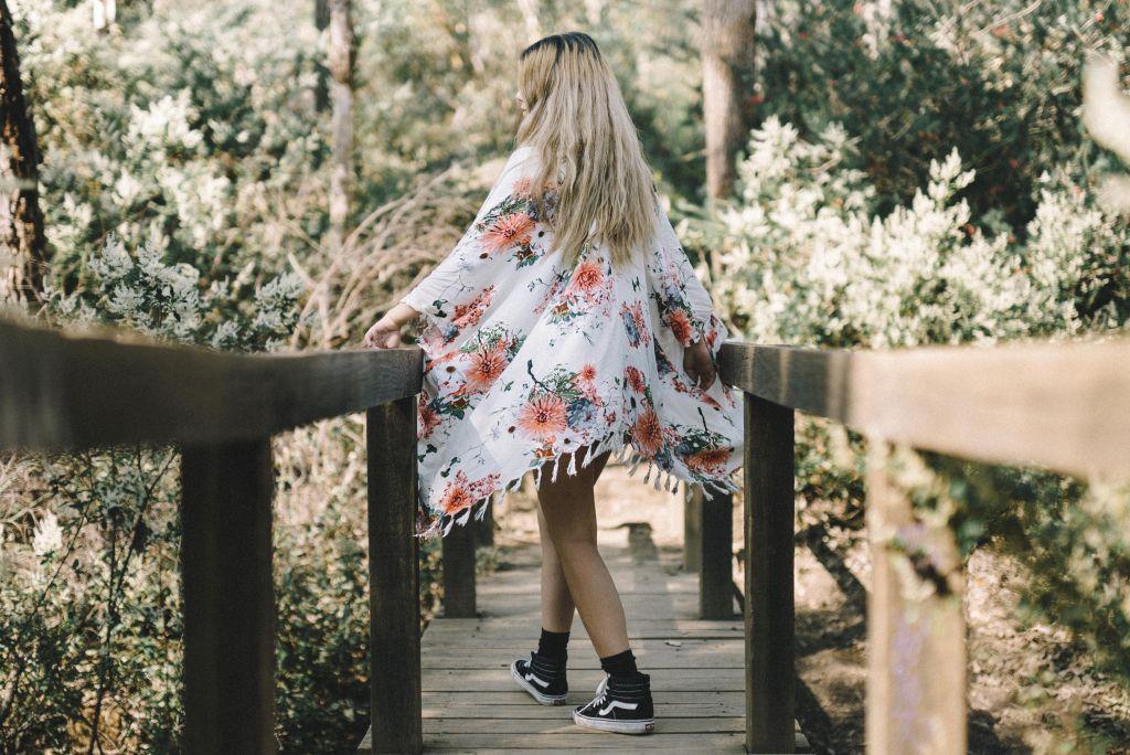 Kimono cardigans inspired by traditional kimonos