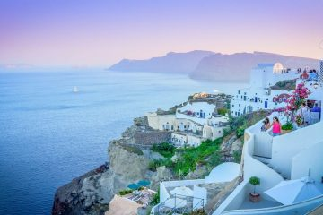 santorini island, greece summer vacations