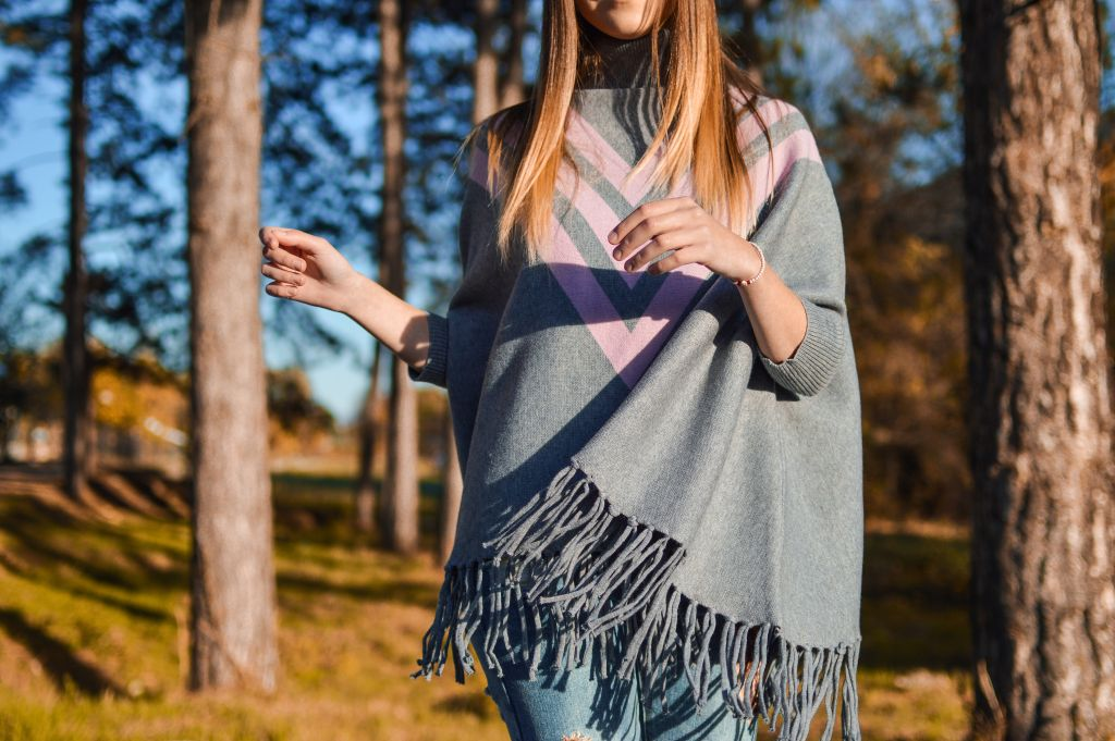 Popular ponchos originated from South America