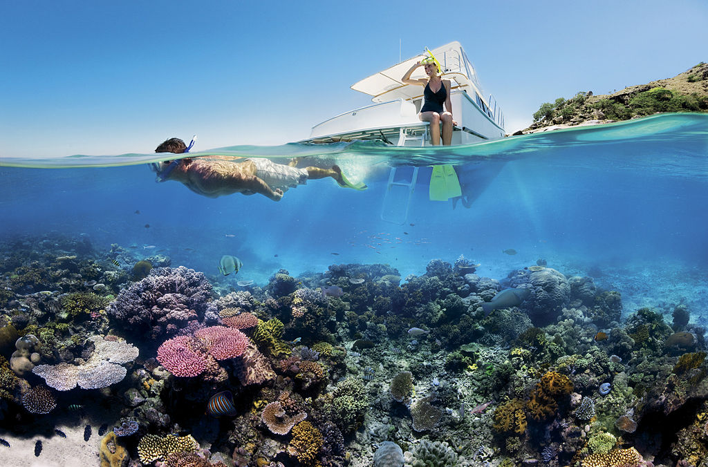 Great Barrier Reef, Australia Snorkel vacation places to visit before they disappear