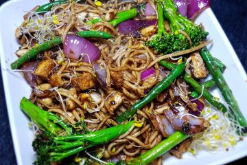 Vegan Noodles chinese food