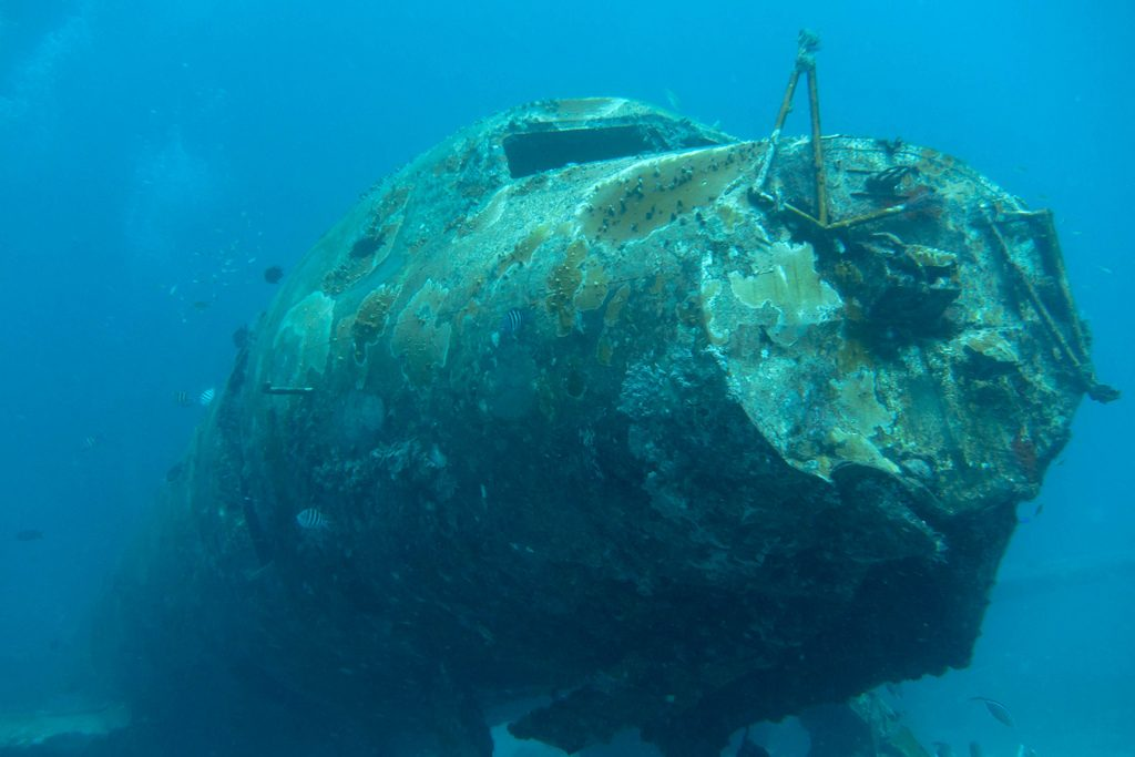 Aruba scuba diving