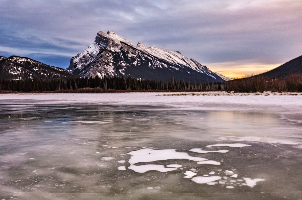 Vermillion Lakes canadian rockies
