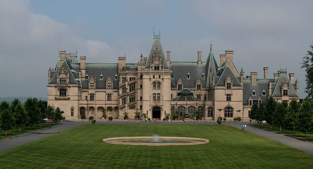 Biltmore House is beautiful for its vastness and sophisticated architecture