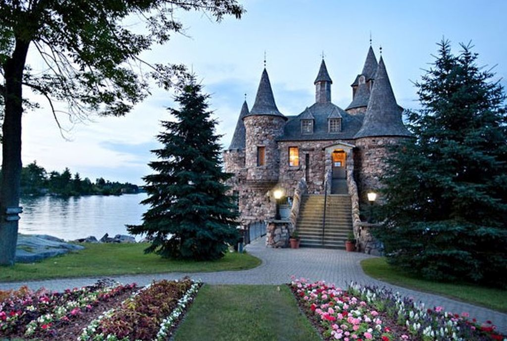 Boldt Castle's Power house is one of its most enchanting attractions
