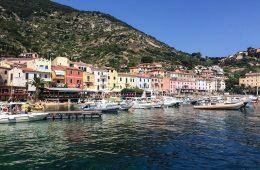 giglio island tuscany italian vacation