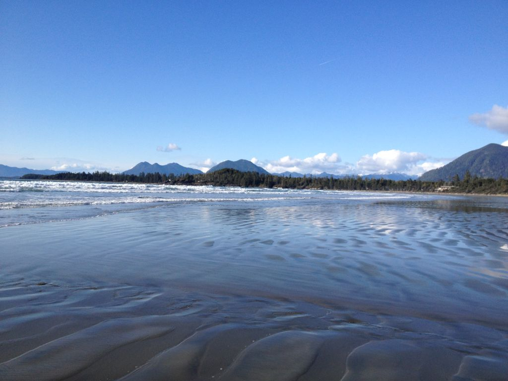 Cox Bay beach has a different sense of serenity compared to other beaches
