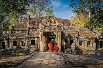 Monks at Cambodia Temples cambodia trip