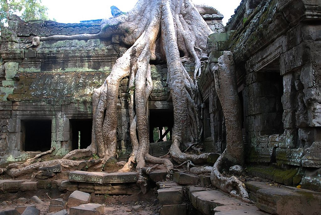 Preah Khan of the Cambodia Temples