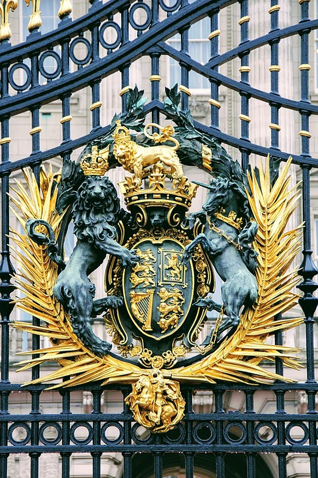 See the Buckingham Palace Gates on your England trip
