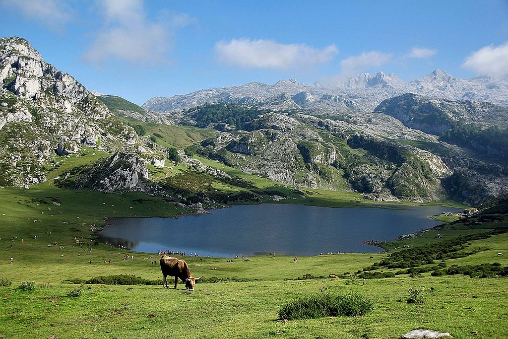 Pyrenees Mountains and Valley