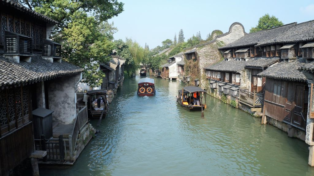 Wuzhen Water Town is one of China's most popular historical sites