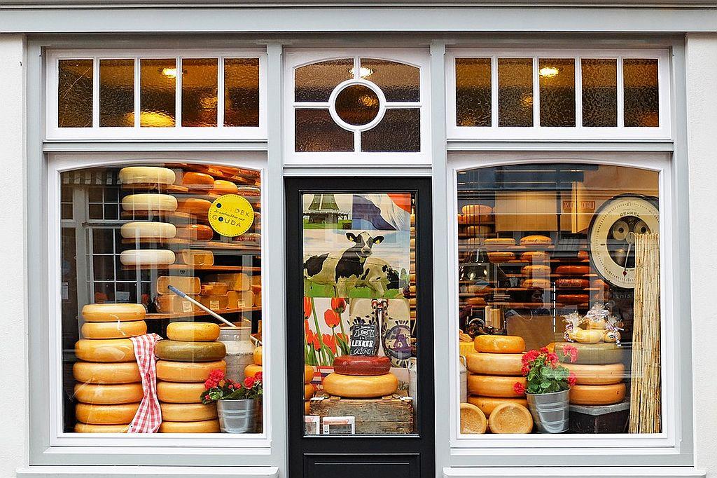Cheese Wheels--European Food Travel