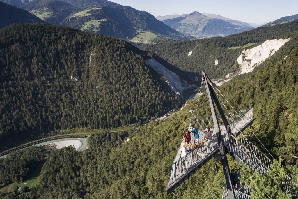 flims switerland panoramic view outdoors - 1024 x 683