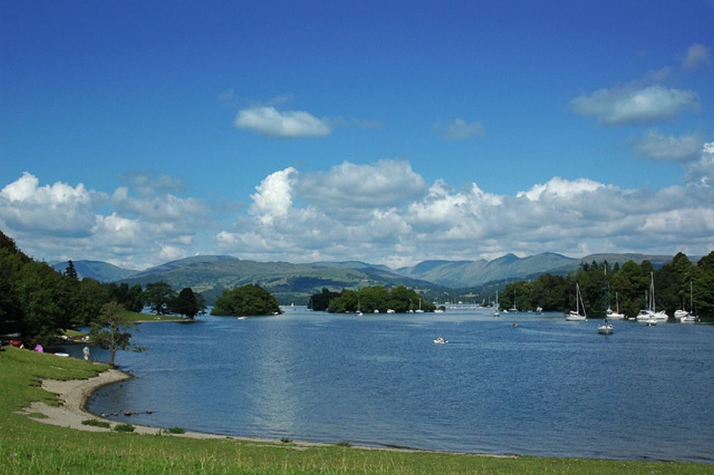 Lake Windermere Lake District UK