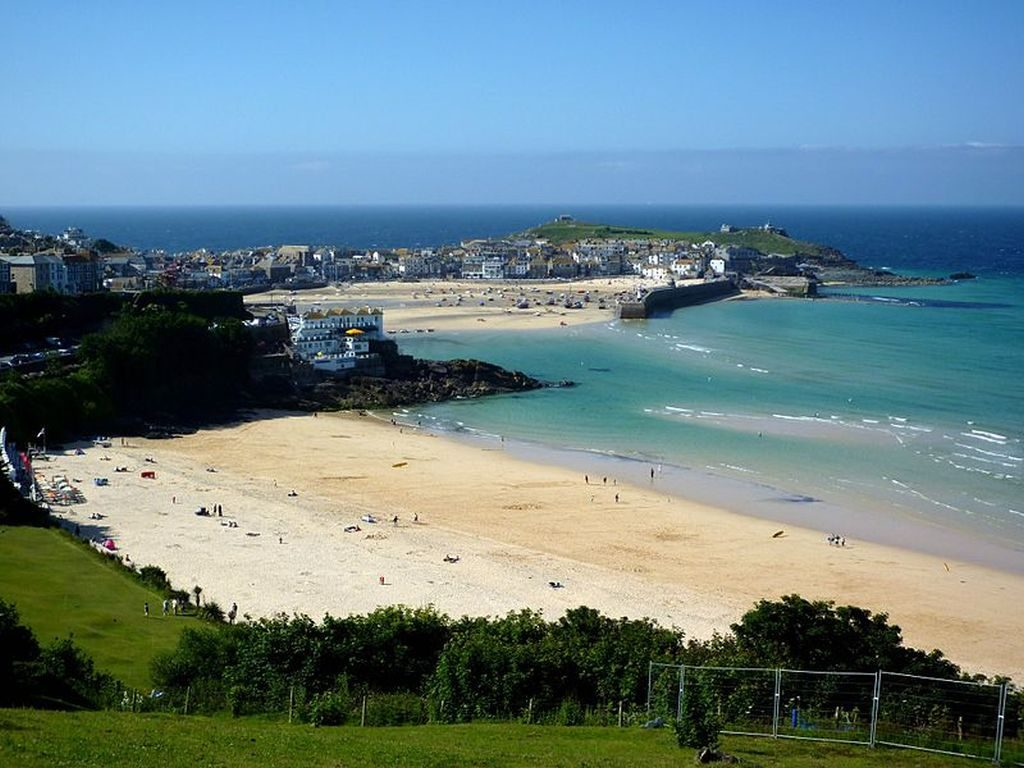 st Ives beach cornwall