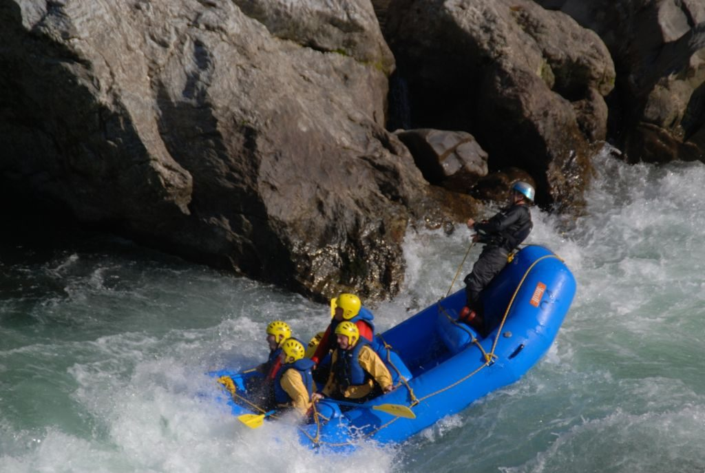 Yoshino River whitewater rafting - 1024 x 687 japan
