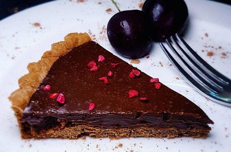 chocolate and cherry tart recipe