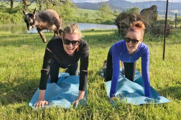 goat yoga health retreats