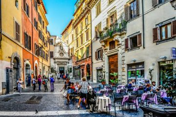 rome italy cafes