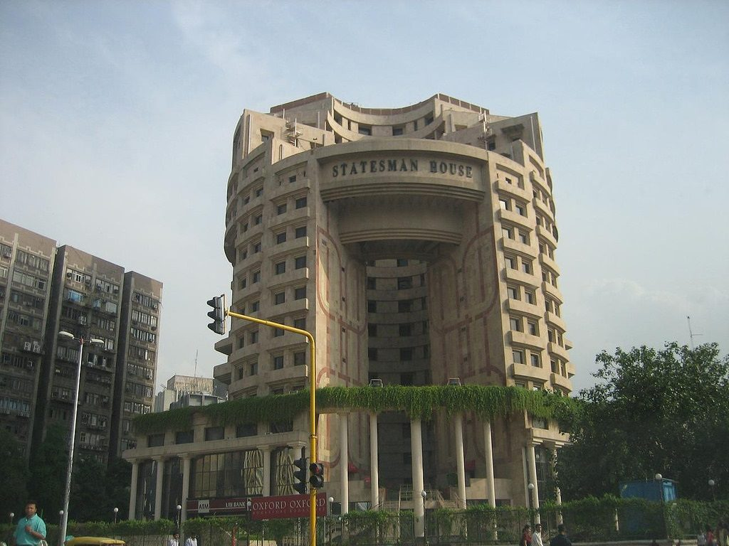 statesman house new delhi cp india