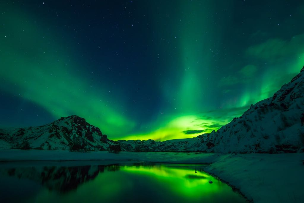 Tromsø, Northern Lights, Troms county, Norway