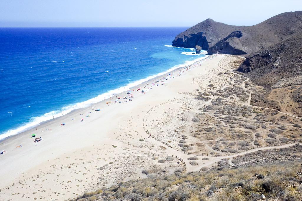 Playa de los Muertos, Costa de Almeria, Spain