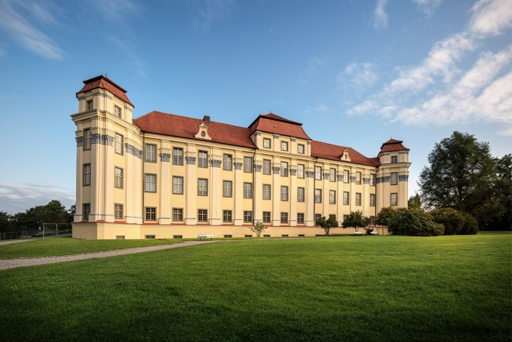 New Palace Tettnang south west germany travel