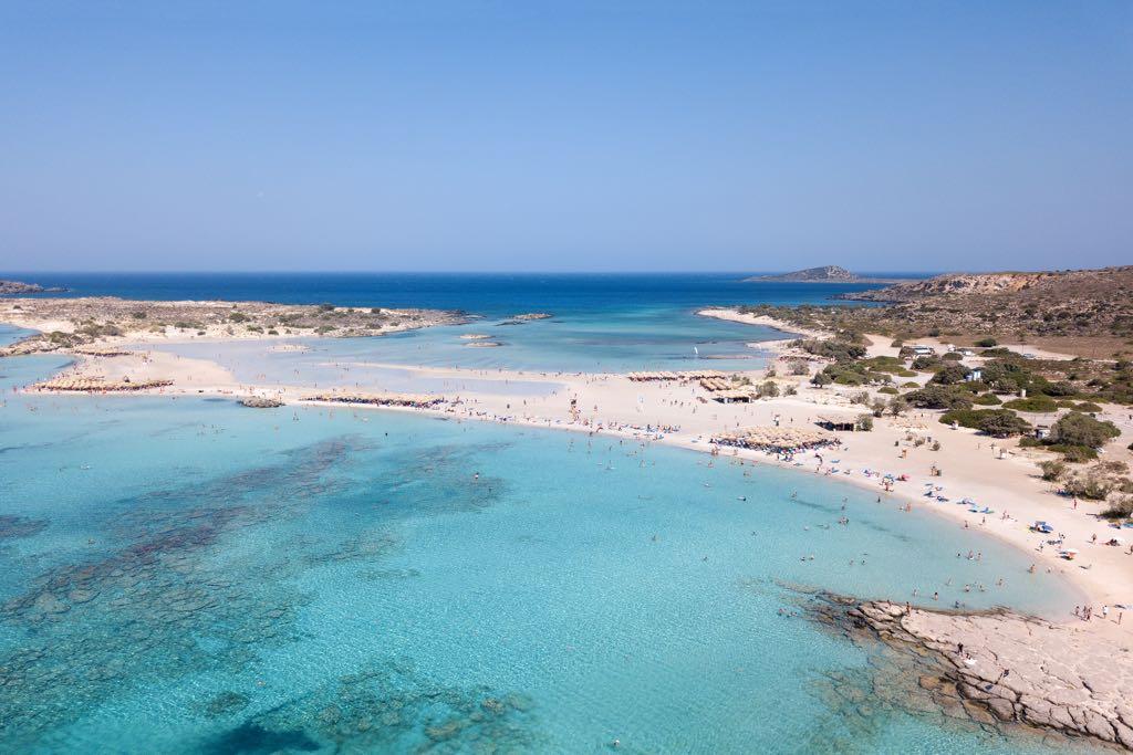 Elafonissi Beach, Kreta, Greece
