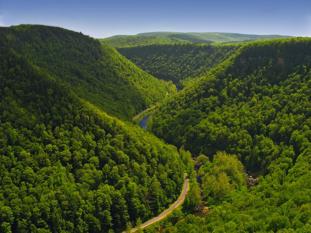 Pine Creek Gorge Pennsylvania adventure