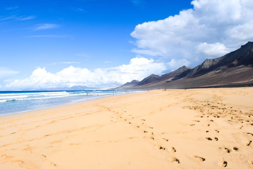 Playa de Cofete, Fuerteventura, Spain