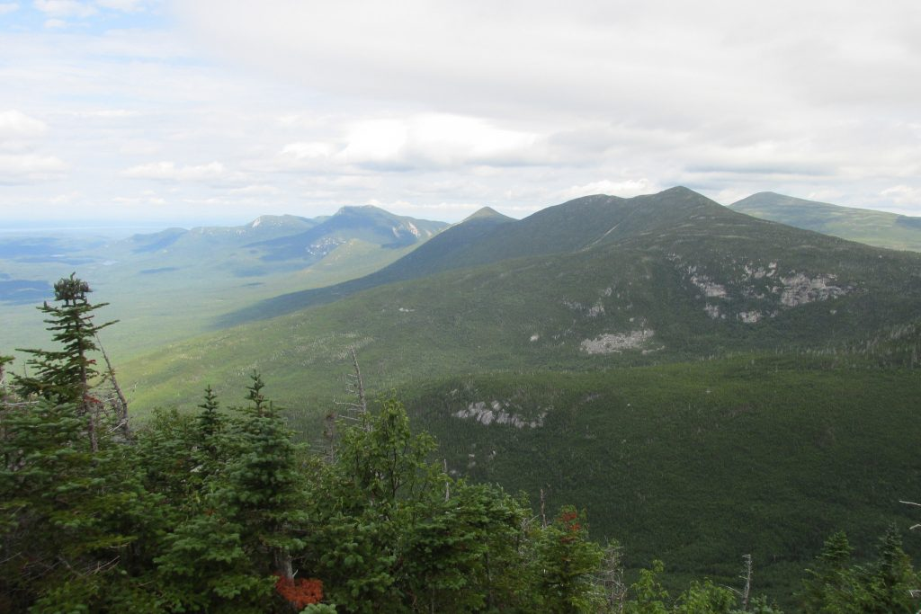 A view from the top Hunt Trail on Mt. Katahdin - Baxter State Park, Maine