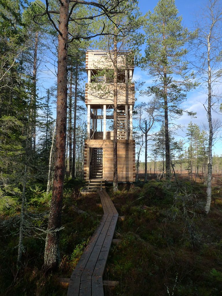 Hamra_national_park_observation_tower sweden