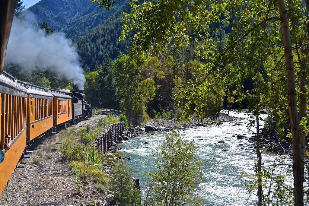 The Durango and Silverton Narrow Gauge Railroad national parks