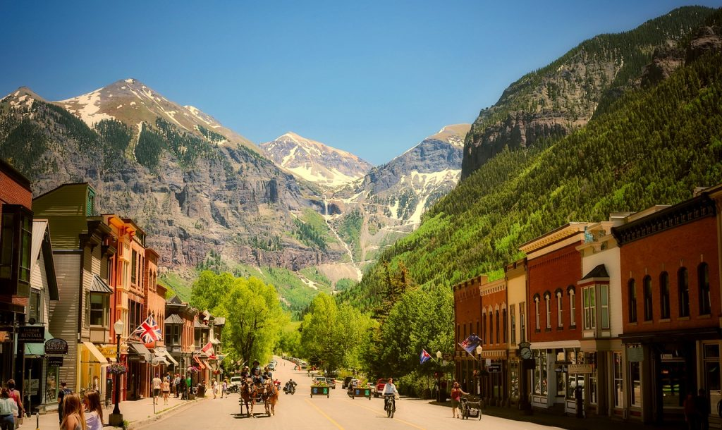 Telluride Photo via Pixabay outdoors