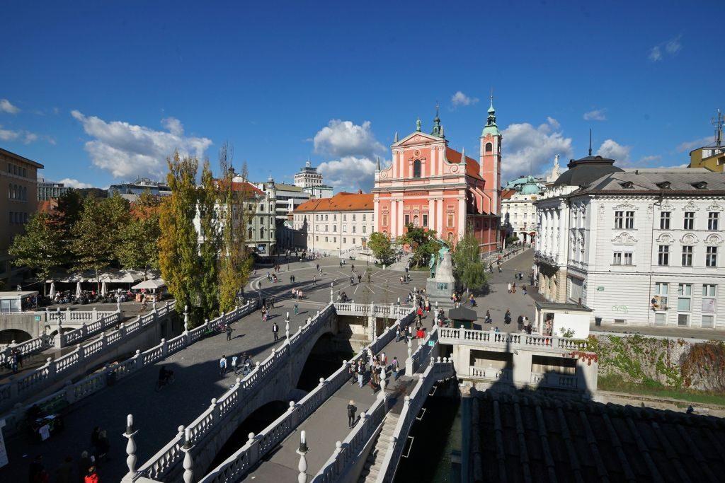 ljubljana slovenia triple bridge - 1024 x 683