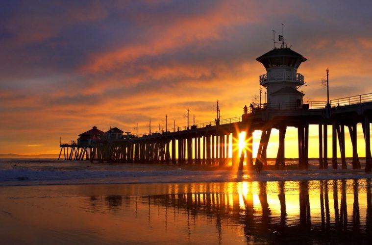 Huntington Beach, California, United States of America orange county trip