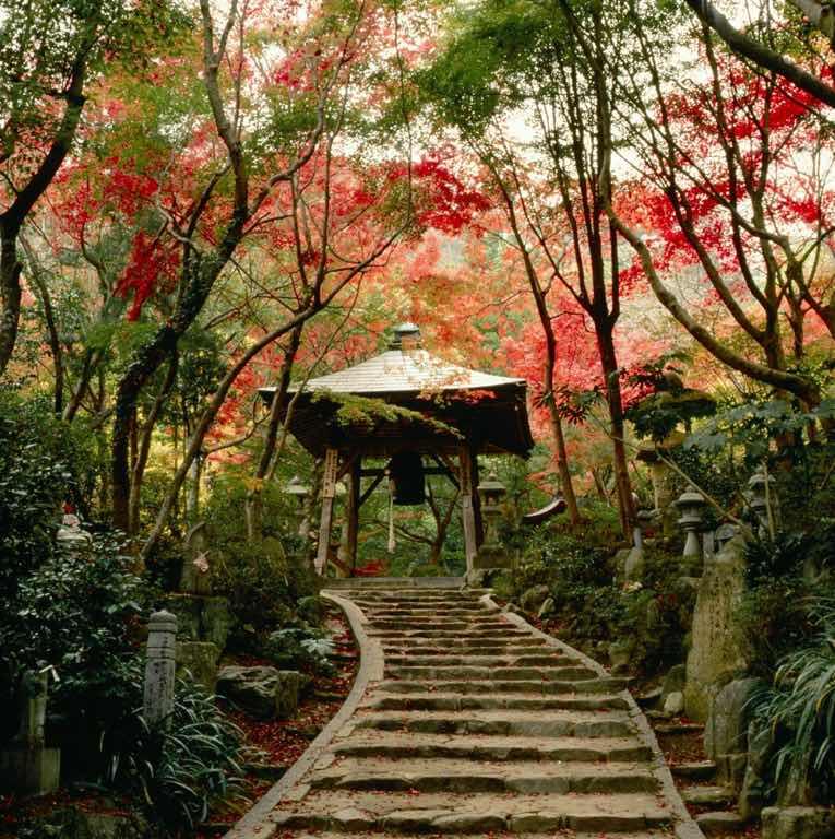 Mitaki dera temple, Mitakiyama, Nishi WardHiroshima, Setouchi Region, Japan