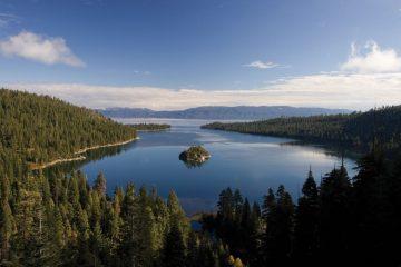 Emerald Bay, Tahoe, South Lake, United States of America California travel