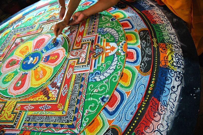 Hevajra Mandala Art
