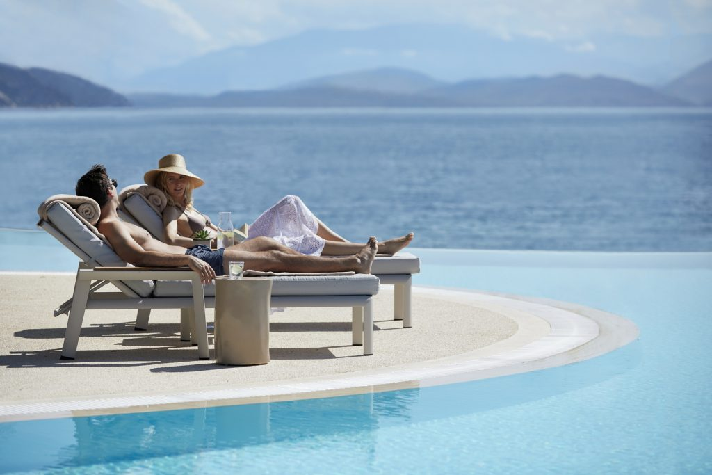 Wellness Retreat Pool Greece