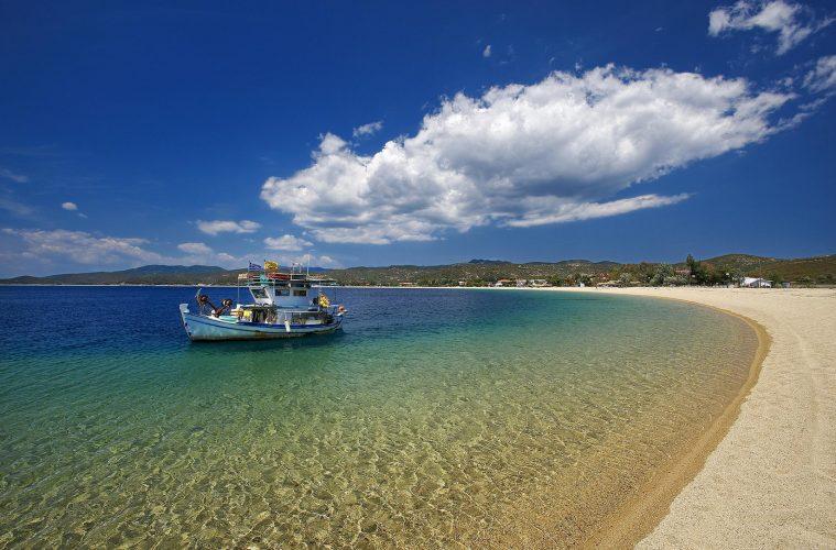 Sithonia Beach, Halkidiki Greece Greek island